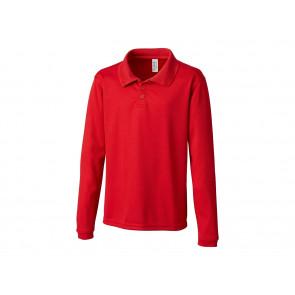Youth Long Sleeve Spin Polo (YQK00004)